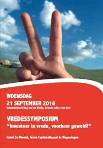Vredessymposium 2016